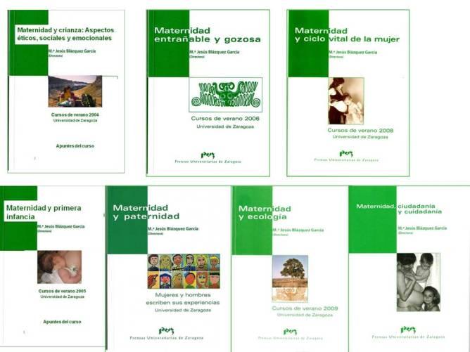 libros de los Cursos de Maternidad